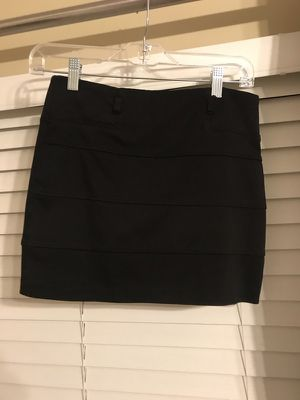 Size Small black stretch skirt