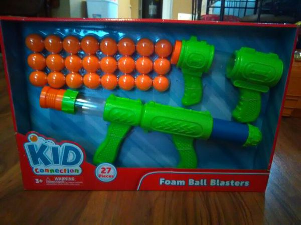 Lot Of 2 Nerf Reactor Toy Foam Ball Gun Hooter No Ammo Vgc
