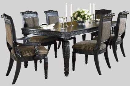 britannia rose dining room set/ashley furniture ( furniture ) in