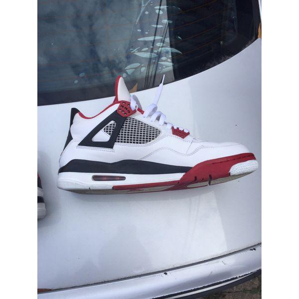 Jordan 4 Fire Red 11.5