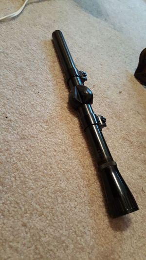 Novelty marksman scope was on .22