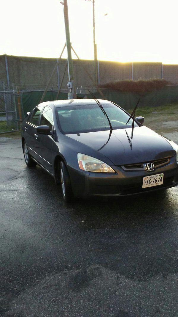 Honda accord 2003 very good (Cars & Trucks) in Virginia Beach, VA ...