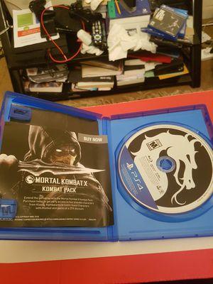 Mortal kombat X on ps4