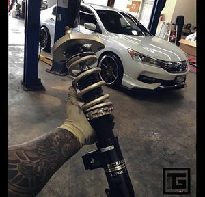 Bc coilovers for Honda Accord