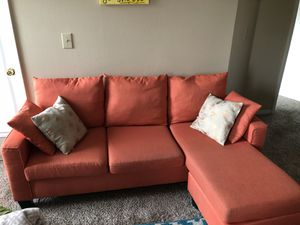 Orange Sectional