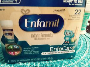 Enfamil for babies born prematurely