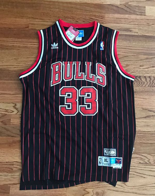 Retro NBA Chicago Bulls Pippen #33 XL (NEW)