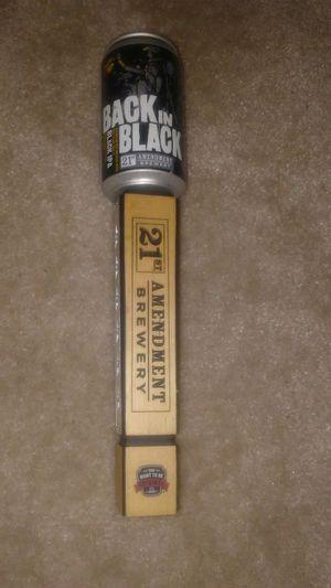 Black IPA Beer Tap Handle