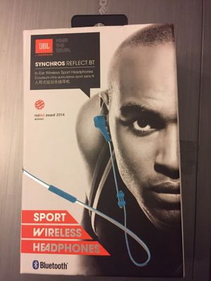 NEW JBL Synchros Reflect BT Sport Wireless Bluetooth Headphones/Earbuds