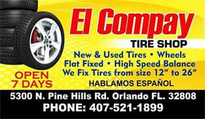 Tire and mechanic shop for sale