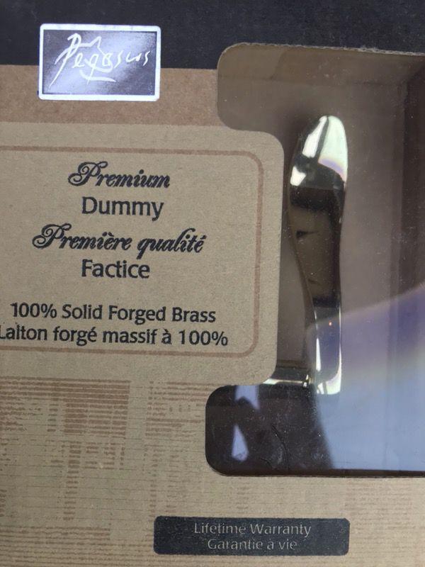 PEGASUS PREMIUM DUMMY LEVER DOOR KNOBS - New in box (Household) in ...