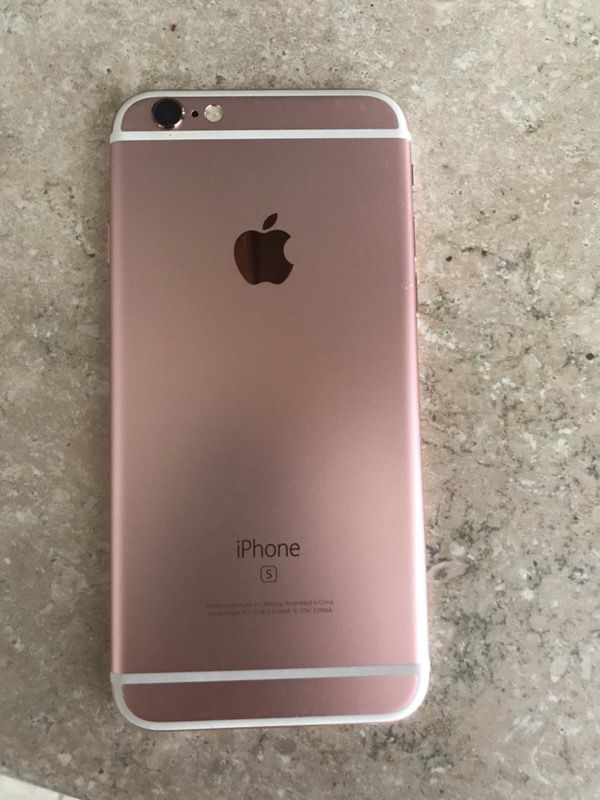 IPHONE 6S Rose gold CASH ONLY