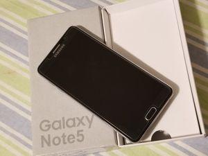 Samsung Galaxy Note 5, Factory Unlocked