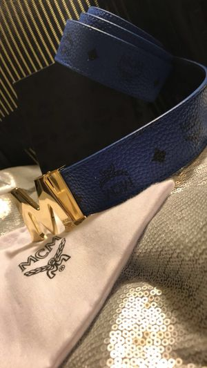 "MCM Blue Belt (32-34"")"