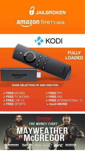 JAILBROKEN Amazon Fire Stick❗️🖥 || FULLY LOADED w/ Kodi v17.3 & Mobdro || 📞 24/7 Technical Support || PLATINUM EDITION‼️
