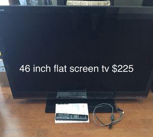 46 inch flat screen tv- Sharp Brand