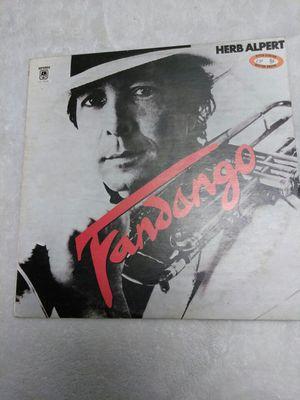 Vinyl - herp Alpert - FANDANGO album