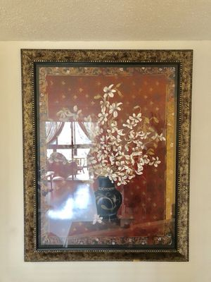 Gold picture frame - moving must sell ASAP