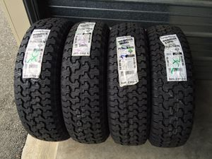 New 235/75R15 Goodyear wrangler A/T tires