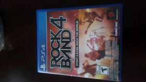 Rock band 4 with guitar