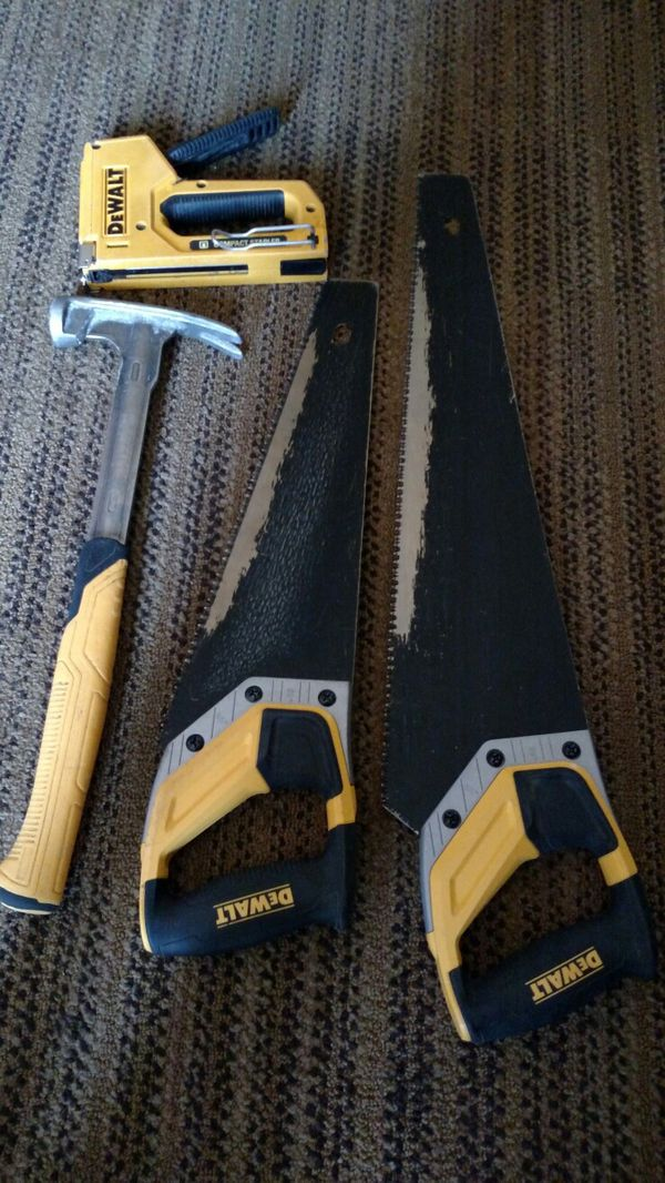 DeWalt group 2 saws, hammer and stapler (Tools & Machinery) in ...
