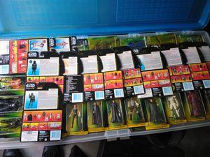 Stars wars toys still in packs
