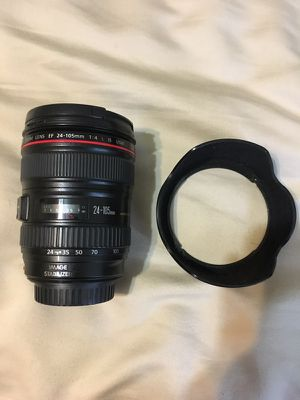 Canon 24-105mm F4 lens