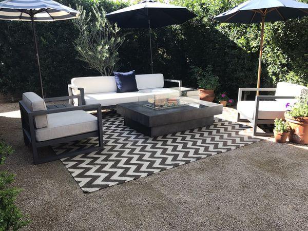 RESTORATION HARDWARE AEGEAN ALUMINUM OUTDOOR FURNITURE - Patio furniture chandler az