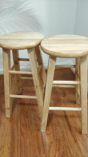 Bar stools, set of two