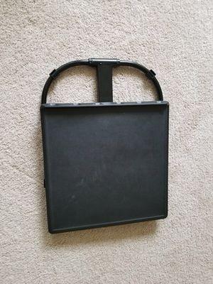 Foldable black table