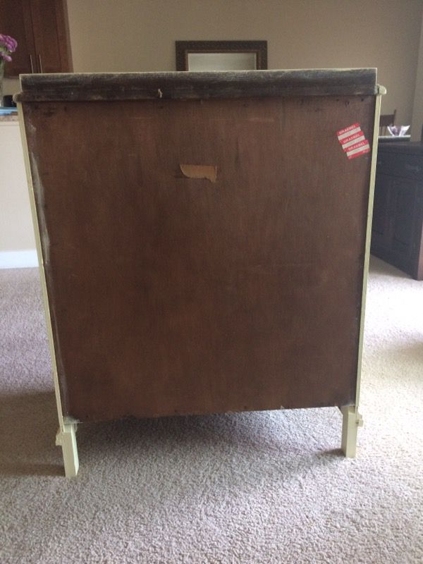 Shabby chic vintage solid wood dresser furniture in for Furniture in bellevue