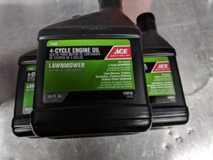 Lawnmower 4-cycle oil