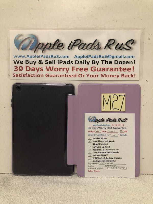 M27 - iPad mini 1 16GB