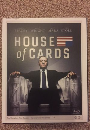 House of cards first season on blu-ray