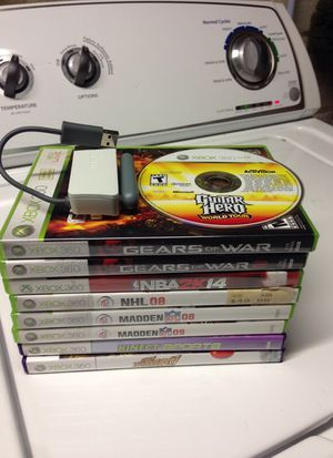 Xbox 360 games and wireless internet adaptor