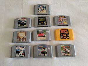Nintendo N64 Video Games