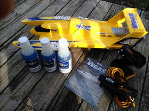 .18 nitrous oxide rc boat ready to run