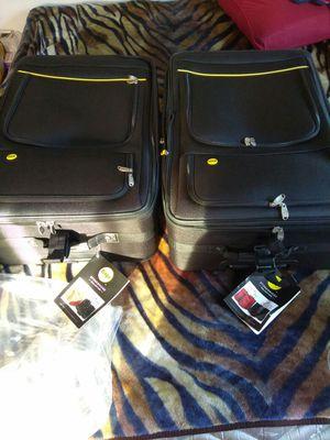 "2 Stonebridge 22"" Suitcase Color: Black BRAND NEW"