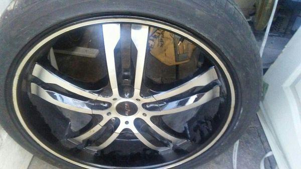 New 20s Rims Unv With Tires Auto Parts In Alamo Tx