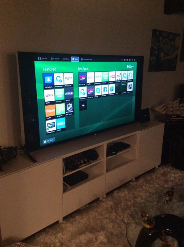 sony tv with ps4. sony 65\ tv with ps4 e