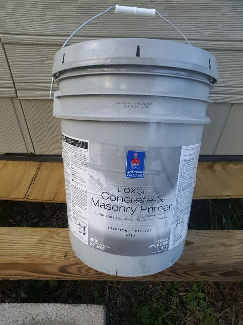 Loxon interior and exterior primer from Sherwin-Williams (Home ...