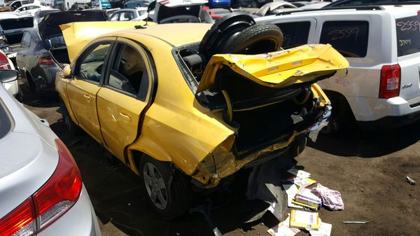 2010 Chevy Aveo For Parts Calls Only Solo Llamadas Auto Parts In