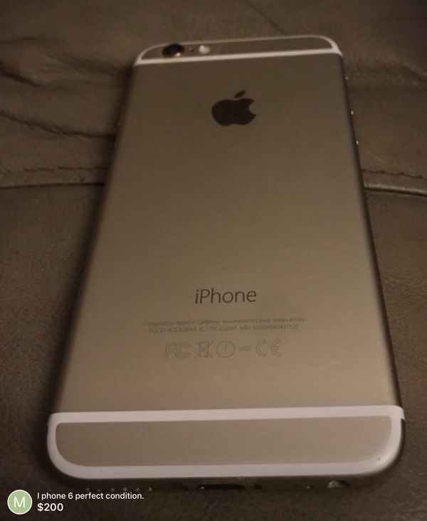 I phone 6 perfect condition!!