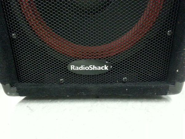 speakers radio shack. pair of radioshack 40-210 pa speakers 160w | cl222 radio shack a