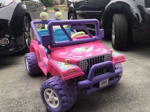 Power Wheels Electric Car Ride On Powerwheels 12v Kids Car
