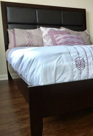 New Padded Queen Bed