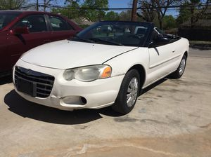 "2004 chrysler Sebring ""runs great"""