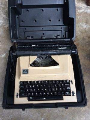 Antique Sears Graduate Typewriter