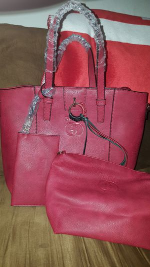 Gucci womens 3 piece purse set