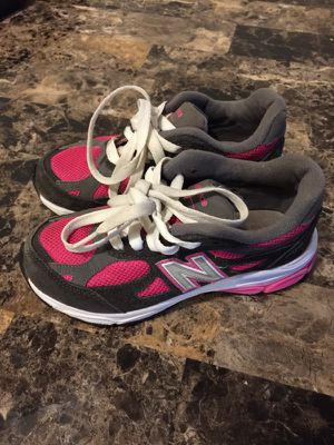 New balance pink,grey and white size 12 c